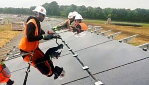 SC solar installation