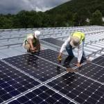 Two Men Installing Solar