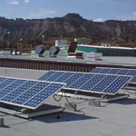 Flat Roof Solar PV System