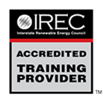 IREC Accredited Training Provider Logo
