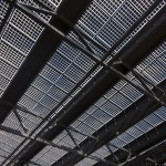 Overhead Shelter with Solar Installation