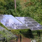 Residential Double Pole Mount Solar Panels