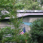 Small Solar Array on Residential Roof
