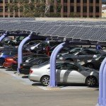 Solar Canopy with Cars