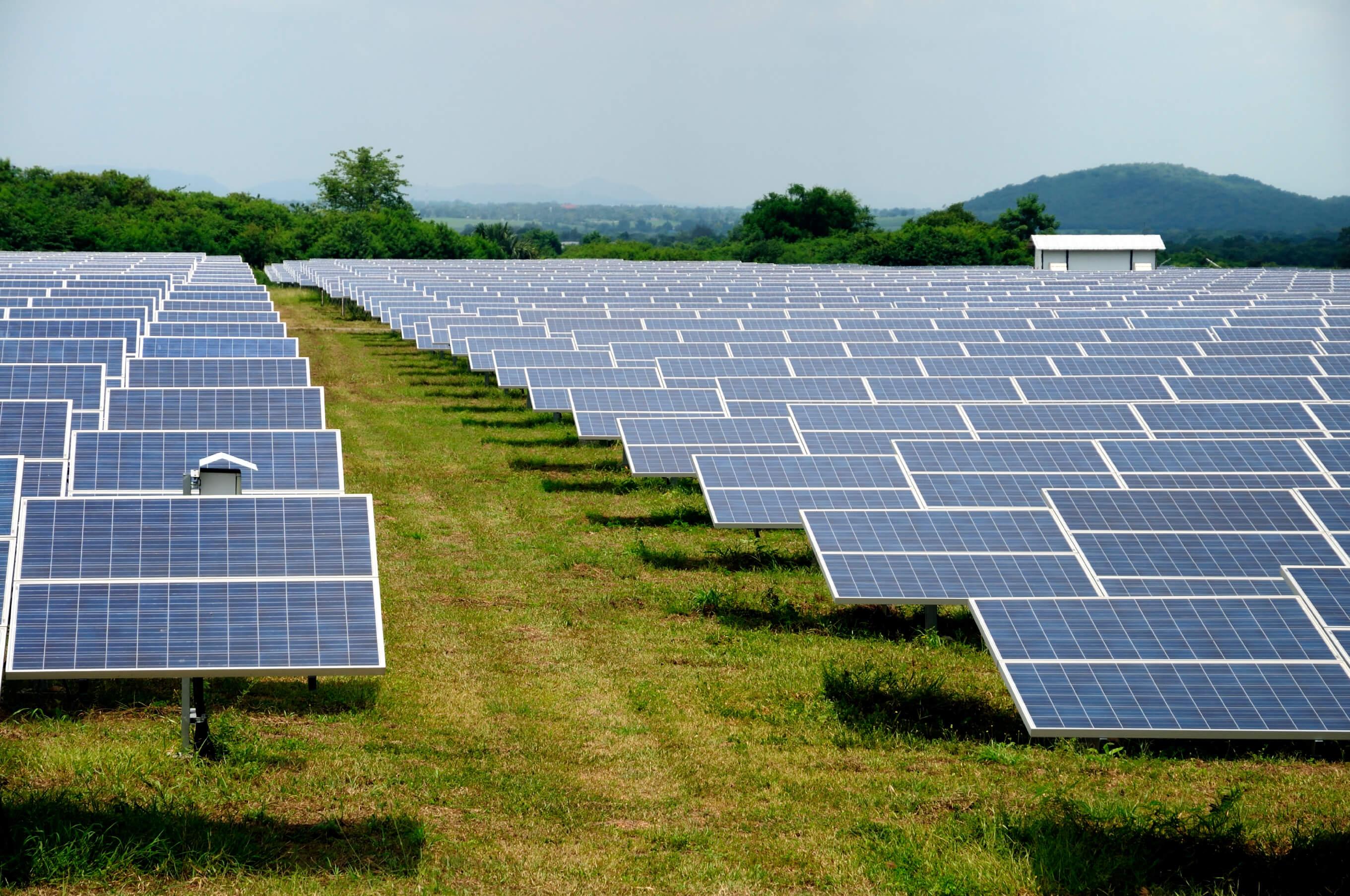 Large Solar PV Farm