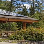 Solar PV Array on Residential Patio