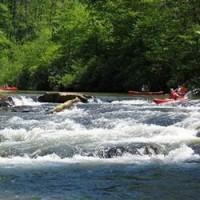 Kayaking on the Etowah River
