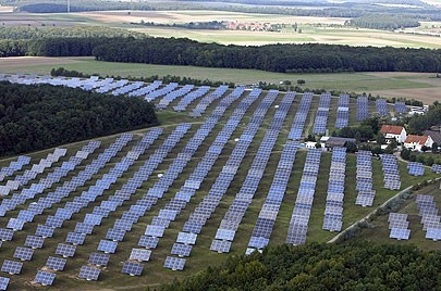 Solar Farm in Florida