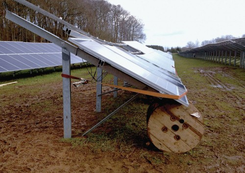 Image of a Poor Solar PV Installation